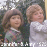 Jennifer with cousin, Amy Stewart